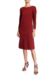 Lafayette 148 Lotus Punto Milano Knee-Length Dress