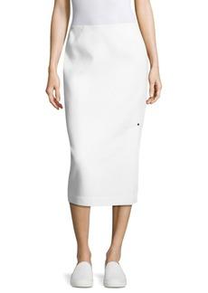 Lafayette 148 Lucina Wool Skirt