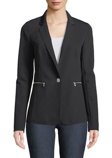 Lafayette 148 Lyndon Acclaimed Stretch Blazer