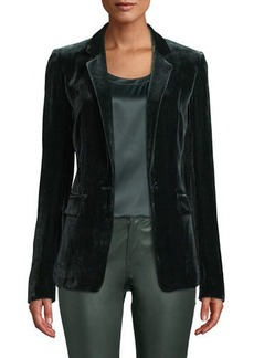 Lafayette 148 Lyndon Classic Velvet Jacket