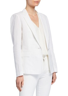 Lafayette 148 Lyndon Courtley Cotton Jacket