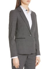 Lafayette 148 Lyndon Stretch Wool Blazer