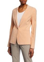 Lafayette 148 Lyndon Tempra Linen-Blend Jacket