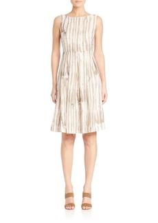 Lafayette 148 Madison Striped Zoe Dress