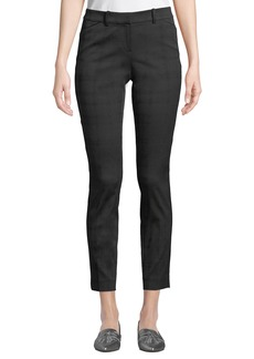 Lafayette 148 Manhattan Pleated Skinny Pants