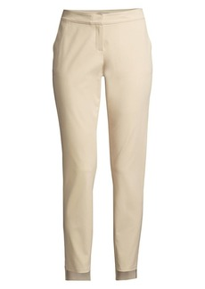 Lafayette 148 Manhattan Slim-Fit Step Hem Pants