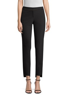 Lafayette 148 Manhattan Step Hem Slim Pants