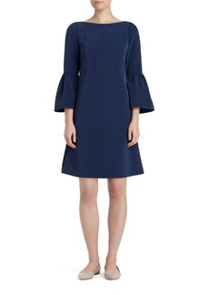 Lafayette 148 Marisa Bell-Sleeve Shift Dress