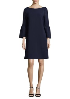 Lafayette 148 Marissa Bell-Sleeve Dress