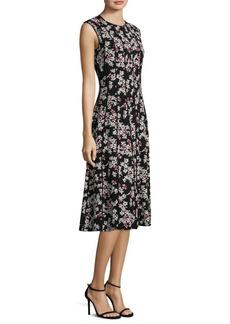 Lafayette 148 Marley Floral Midi Dress