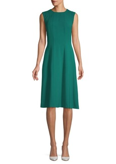 Lafayette 148 Marley Seamed A-Line Dress