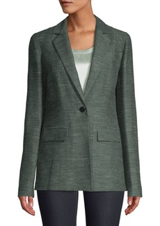 Lafayette 148 Marris Linen & Silk-Blend Jacket