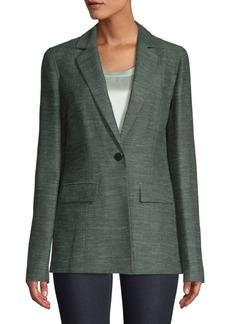 Lafayette 148 Marris Linen & Silk-Blend Jacket