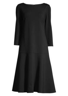 Lafayette 148 Martha Drop Waist Dress