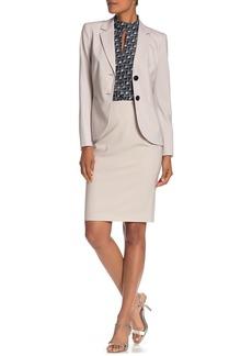 Lafayette 148 Maxine Wool Blend Pencil Skirt