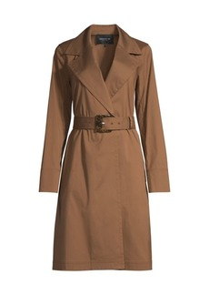 Lafayette 148 Mayfair Belted Trench Coat