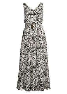 Lafayette 148 Memphis Printed Silk Dress