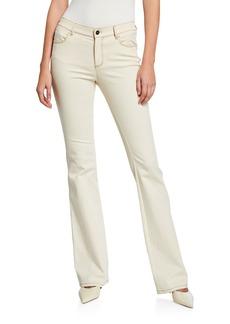Lafayette 148 Mercer Artisan Denim 8 OZ Flare Jeans