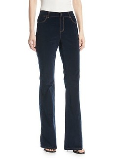 Lafayette 148 Mercer Curated Corduroy Flared Pants