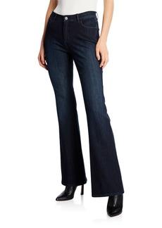 Lafayette 148 Mercer Flared Prestige Denim Jeans