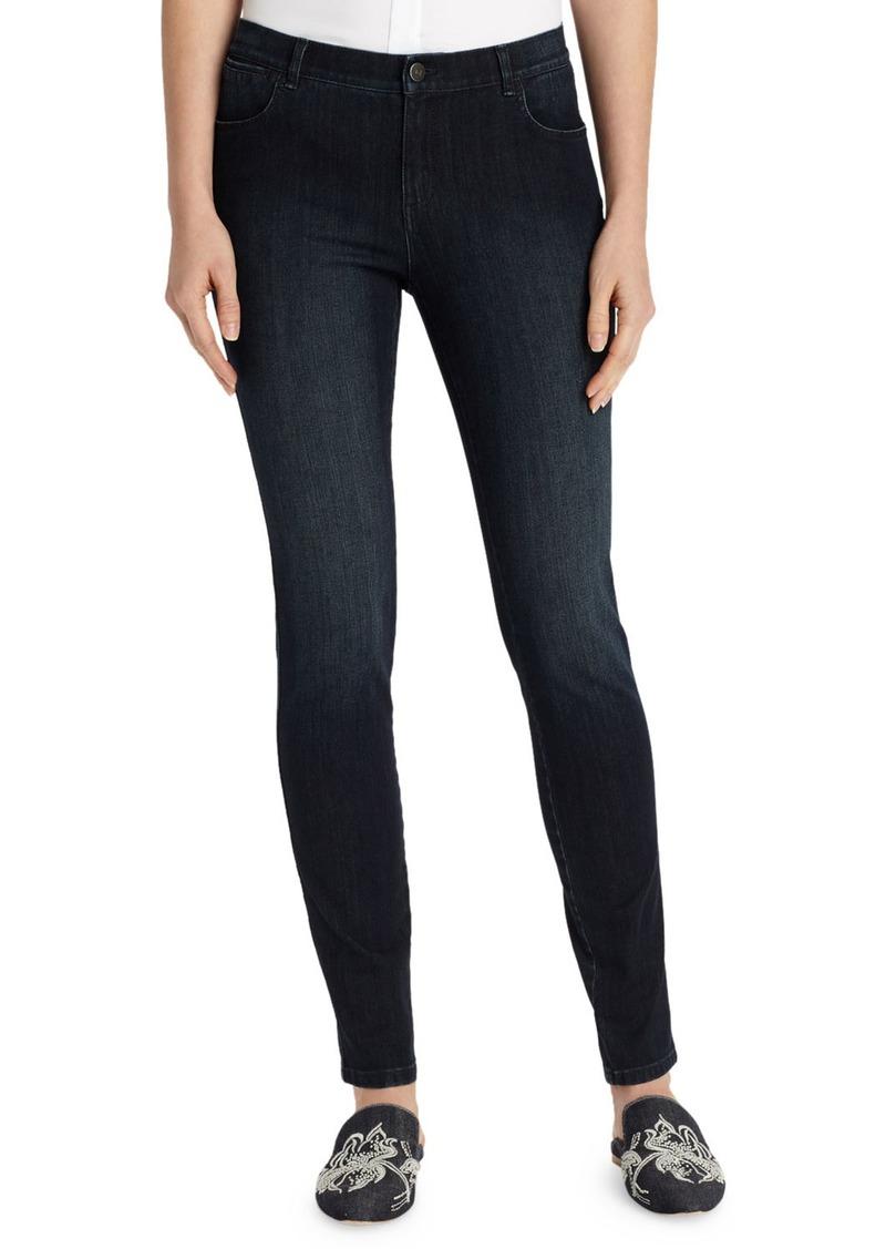 Lafayette 148 Mercer Stretch-Denim Slim-Leg Jeans