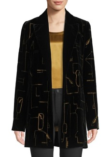 Lafayette 148 Sivan Jacket With Embellished Detail