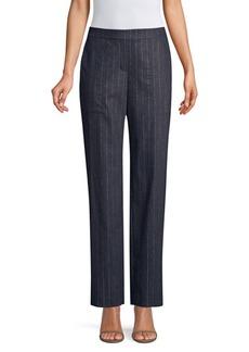Lafayette 148 Metallic Stripe Trousers