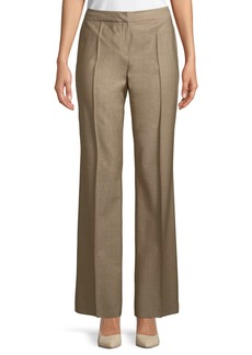 Mid-Rise Menswear-Style Pants
