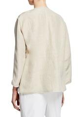 Lafayette 148 Milo Nebulous Textured Jacket