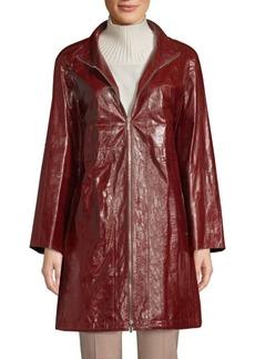Lafayette 148 Minerva Leather Jacket