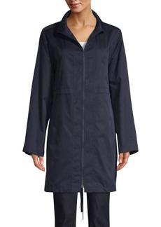 Lafayette 148 Minerva Top Stitch Anorak Jacket