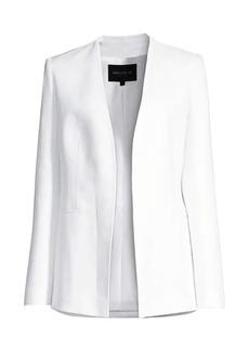 Lafayette 148 Miranda Linen Open Jacket