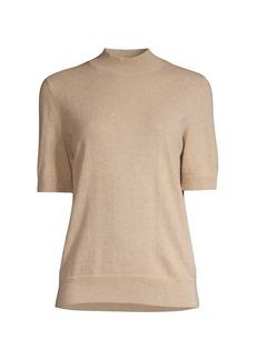 Lafayette 148 Mockneck Cashmere Sweater