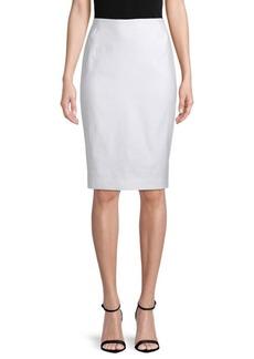 Lafayette 148 Modern Slim Skirt
