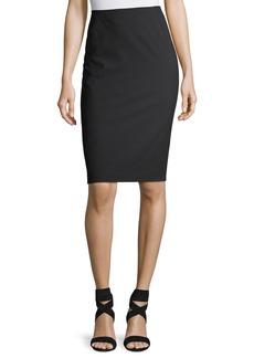 Lafayette 148 Modern Slim Wool-Blend Pencil Skirt