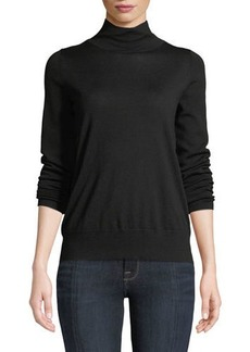 Lafayette 148 Modern Wool Turtleneck Top
