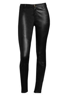 Lafayette 148 Nappa Leather Mercer Pants