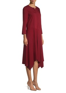 Lafayette 148 Narissa Handkerchief Shift Dress
