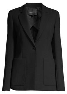 Lafayette 148 Nazelli Textured Wool Jacket