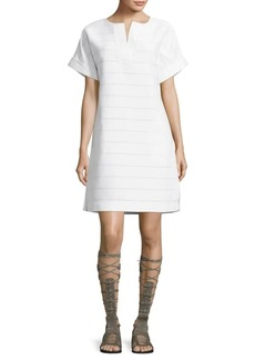 Lafayette 148 Nazneen Striped Dress