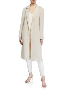 Lafayette 148 Nicholas Linen Dune Cloth Jacket