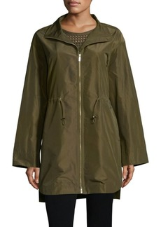 Lafayette 148 Nicolina Empirical Tech Cloth Jacket