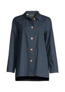Lafayette 148 Nidia Travelers Shirt Jacket