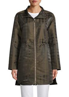 Lafayette 148 Nikolina Zip-Up Jacket