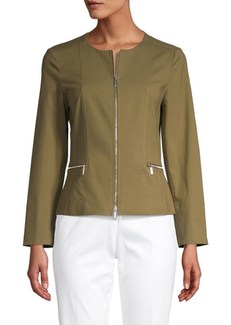 Lafayette 148 Noel Cotton Stretch Jacket