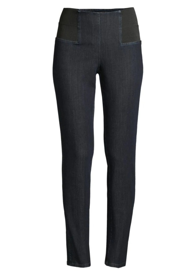 Lafayette 148 Nolita Pull-On Skinny Jeans