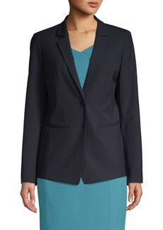 Lafayette 148 Notch-Lapel Jacket