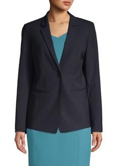 Lafayette 148 Notch-Lapel Jacket