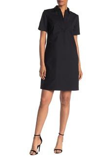 Lafayette 148 Novella Spread Collar Dress