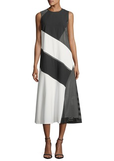 Lafayette 148 Nuri Millennium Crepe Dress